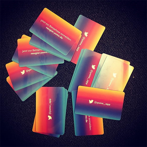 yomo onboarding event invitation cards