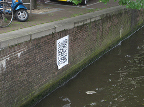 QR code on stupid position