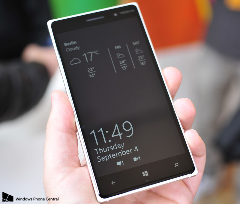 Windows Phone Glance Screen